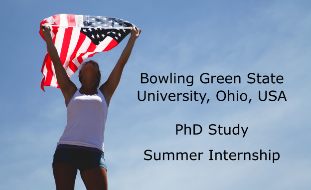 PhD Study and Summer Internship in USA