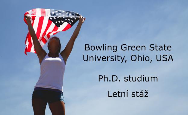 Ph.D. studium a letní stáž v USA